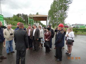 Dwie kilkudziesięcioosobowe delegacje odwiedziły Zakład wRudnie.