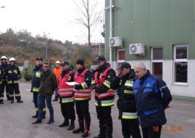Koncentracja Ochotniczej Straży Pożarnej w ZUOK RUDNO 2016
