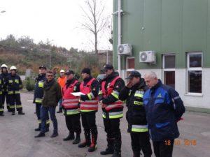Koncentracja jednostek Ochotniczej Straży Pożarnej zGminy Ostróda.