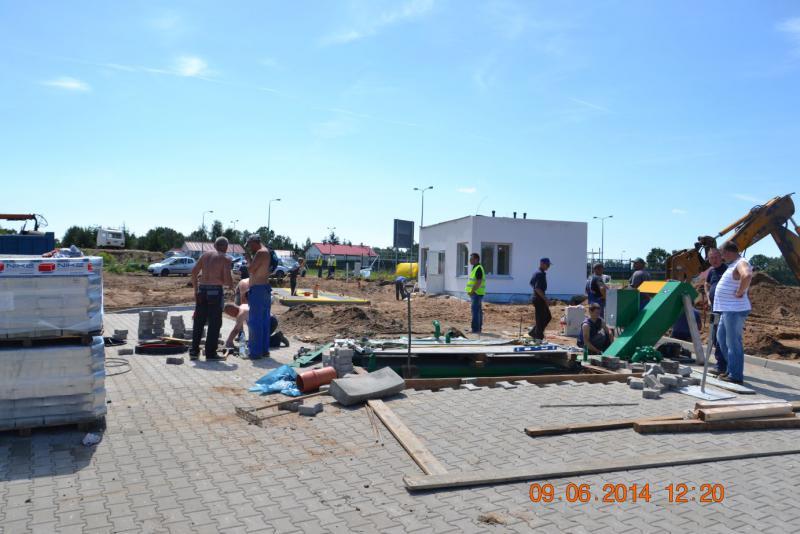Stacja przeładunkowa Półwieś