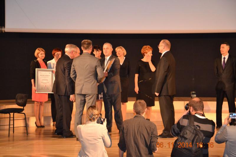 Warmińsko Mazurska Nagroda Jakości 2014
