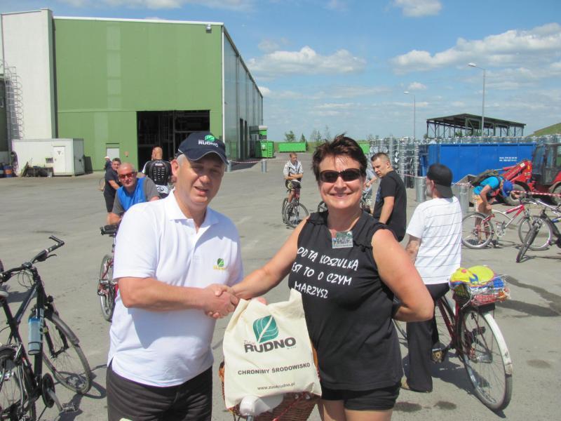 "XII Rajd rowerowy ''Dylewska Góra 2012"""
