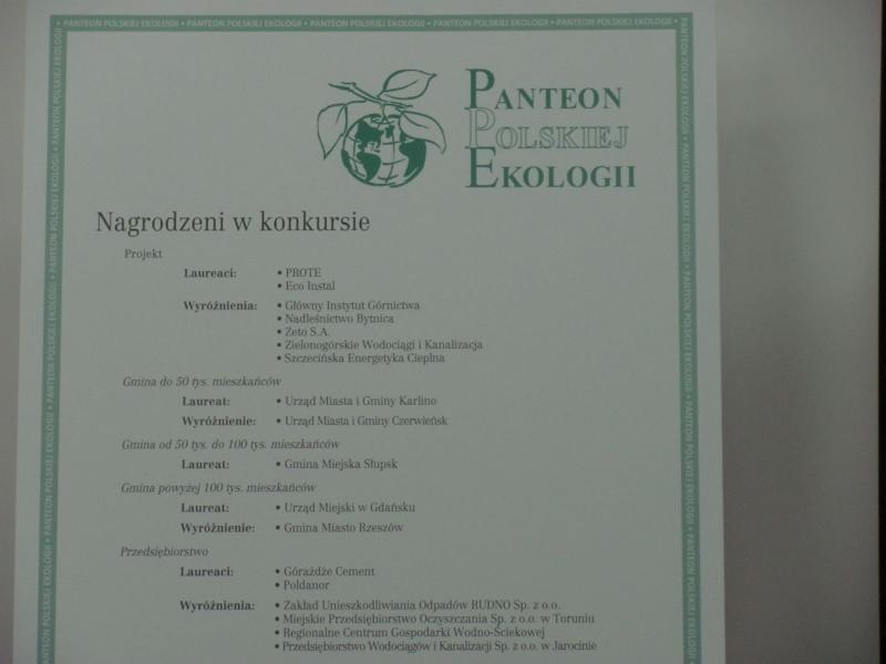Panteon Polskiej Ekologii