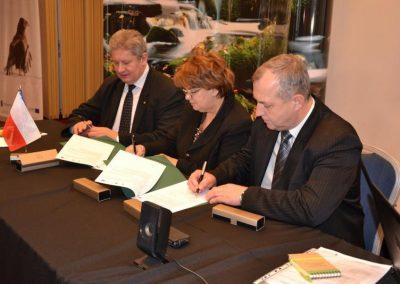 Podpisanie umowy na dofinansowanie rozbudowy Zakładu